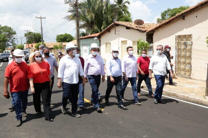 rua alecrim 7 Governador inaugura obras de mobilidade e visita reforma de escola em Campo Maior