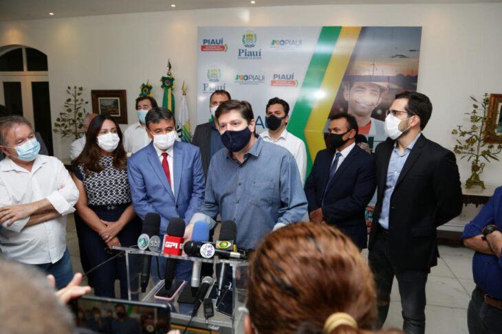 11a316a8 9d99 45e9 9354 dc027f2e57b8 Wellington dialoga com Rodrigo Maia e Baleia Rossi sobre eleição da Câmara dos Deputados