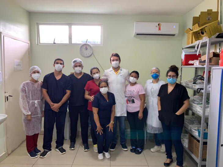 Hospital de Picos, Justino Luz