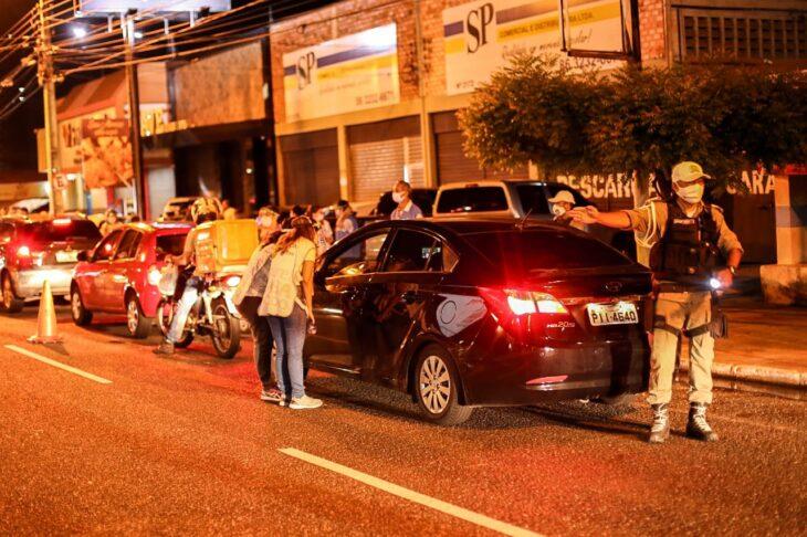 Blitz Lei Seca 29 de janeiro 2020 8 Vigilância Sanitária notifica estabelecimentos no Piauí por descumprirem medidas contra a Covid-19