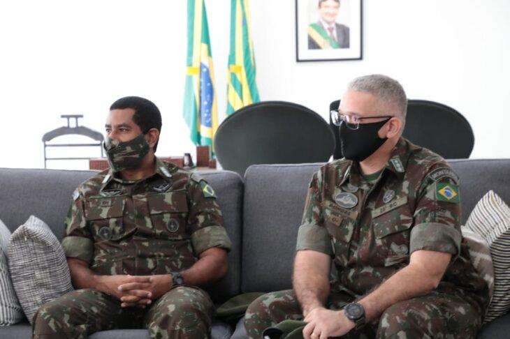 WhatsApp Image 2021 01 12 at 11.56.56 2 Governador dá boas-vindas ao novo comandante do 25º BC