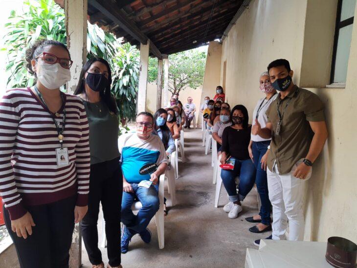 emgerpi1 Funcionários da Emgerpi participam de palestra sobre saúde mental
