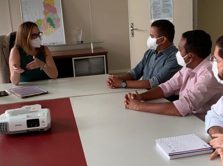 ppp SANEAMENTO FLORIANO Reunião trata de PPP do Saneamento Básico para Floriano