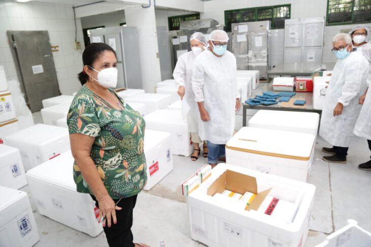 rede de frios coronavac 15 Governo distribuirá vacinas via terrestre e aérea para cidades do interior do Piauí