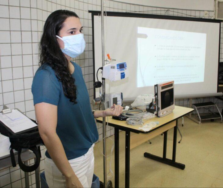 TREINAMENTO B HGV investe no treinamento dos profissionais que atuam na área covid