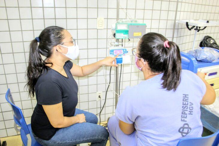 TREINAMENTO D HGV investe no treinamento dos profissionais que atuam na área covid