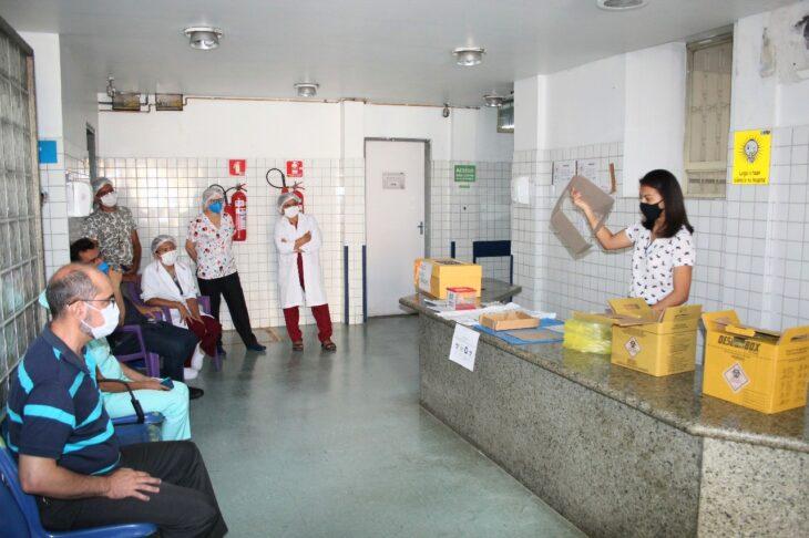 TREINAMENTO E HGV investe no treinamento dos profissionais que atuam na área covid
