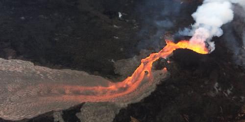 Vulcano Kilauea - colata lava