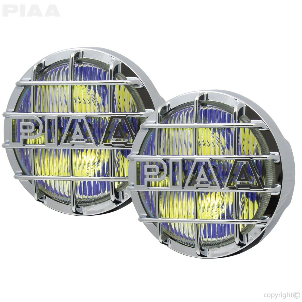 medium resolution of 520 chrome ion yellow fog halogen lamp kit 5261