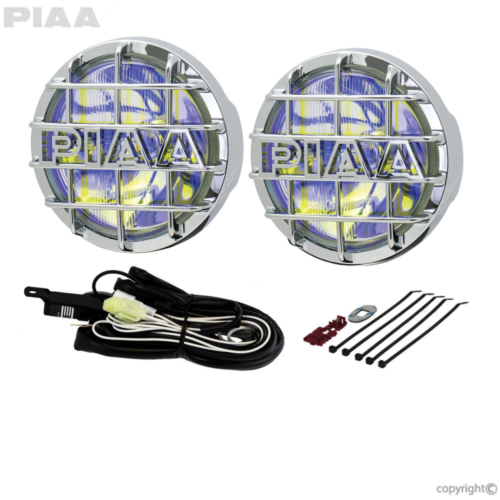 hight resolution of 520 chrome ion yellow driving halogen lamp kit 05263