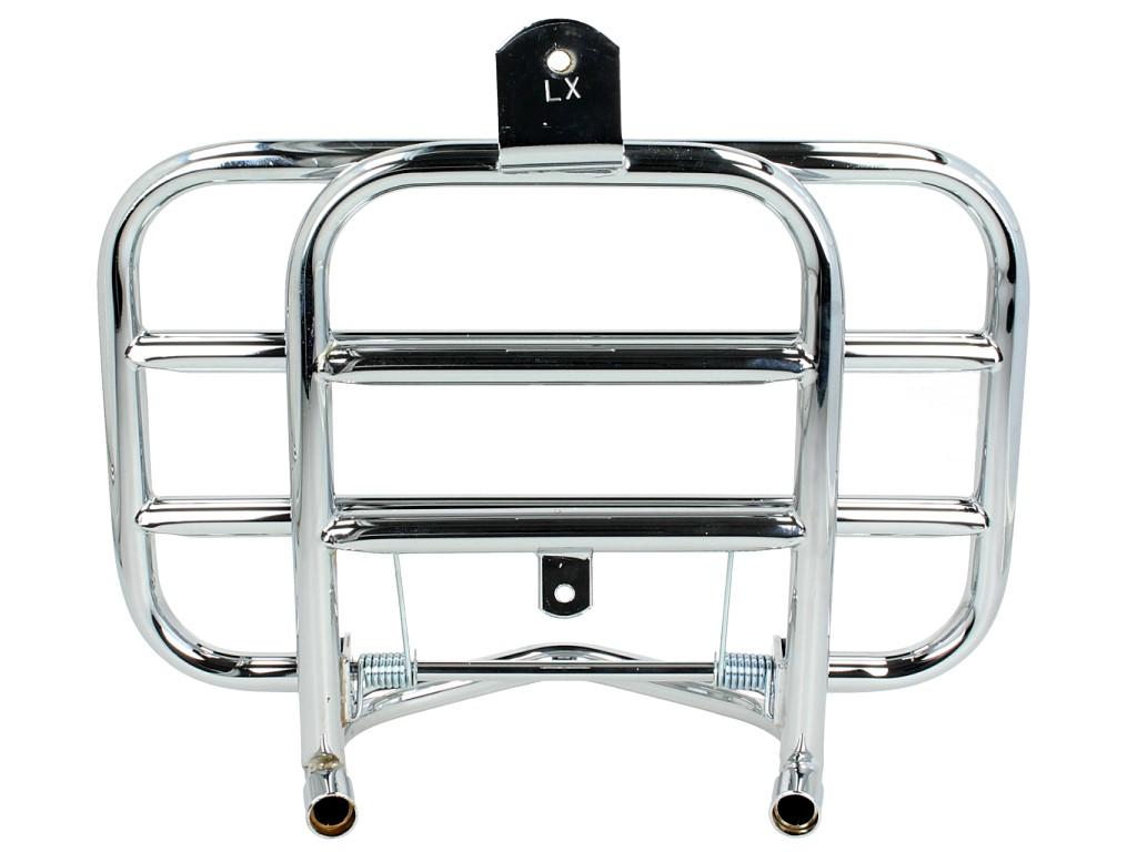 Gepäckträger, vorne, chrom, klappbar für Vespa LX