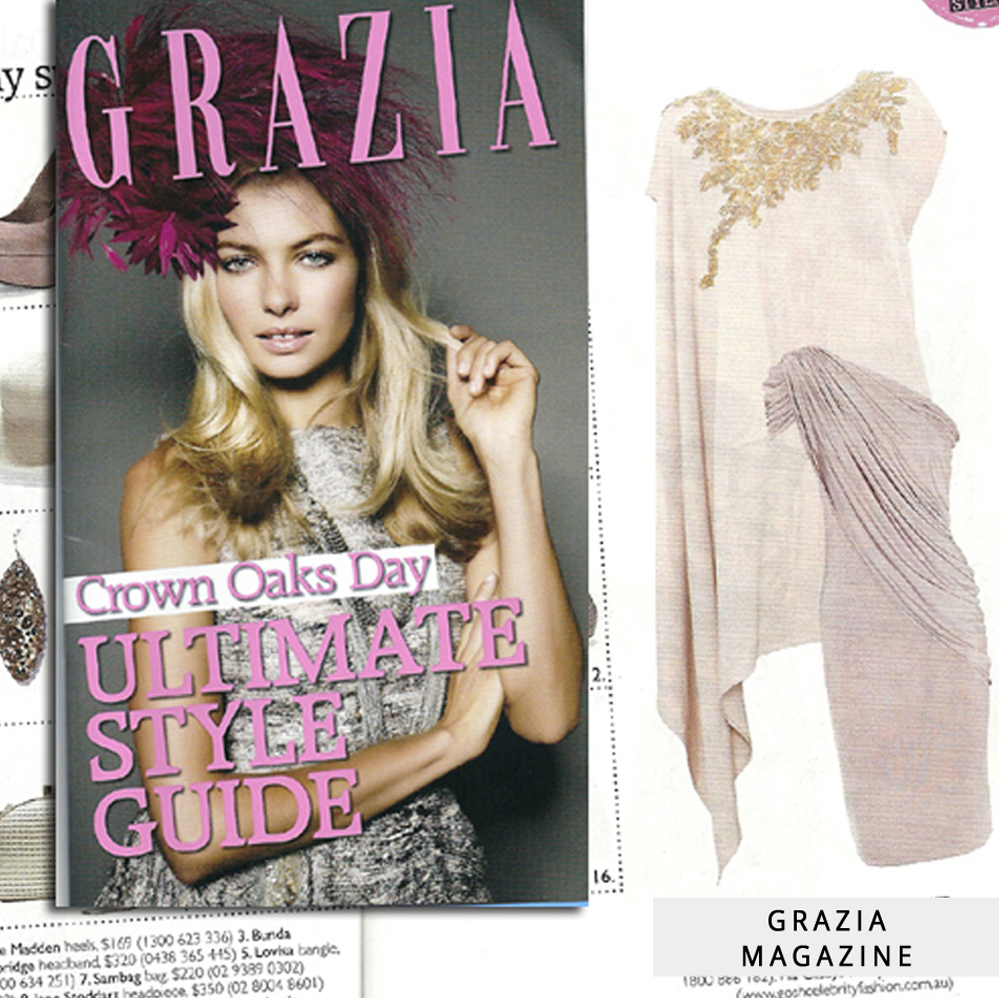 Grazia spring guide feature