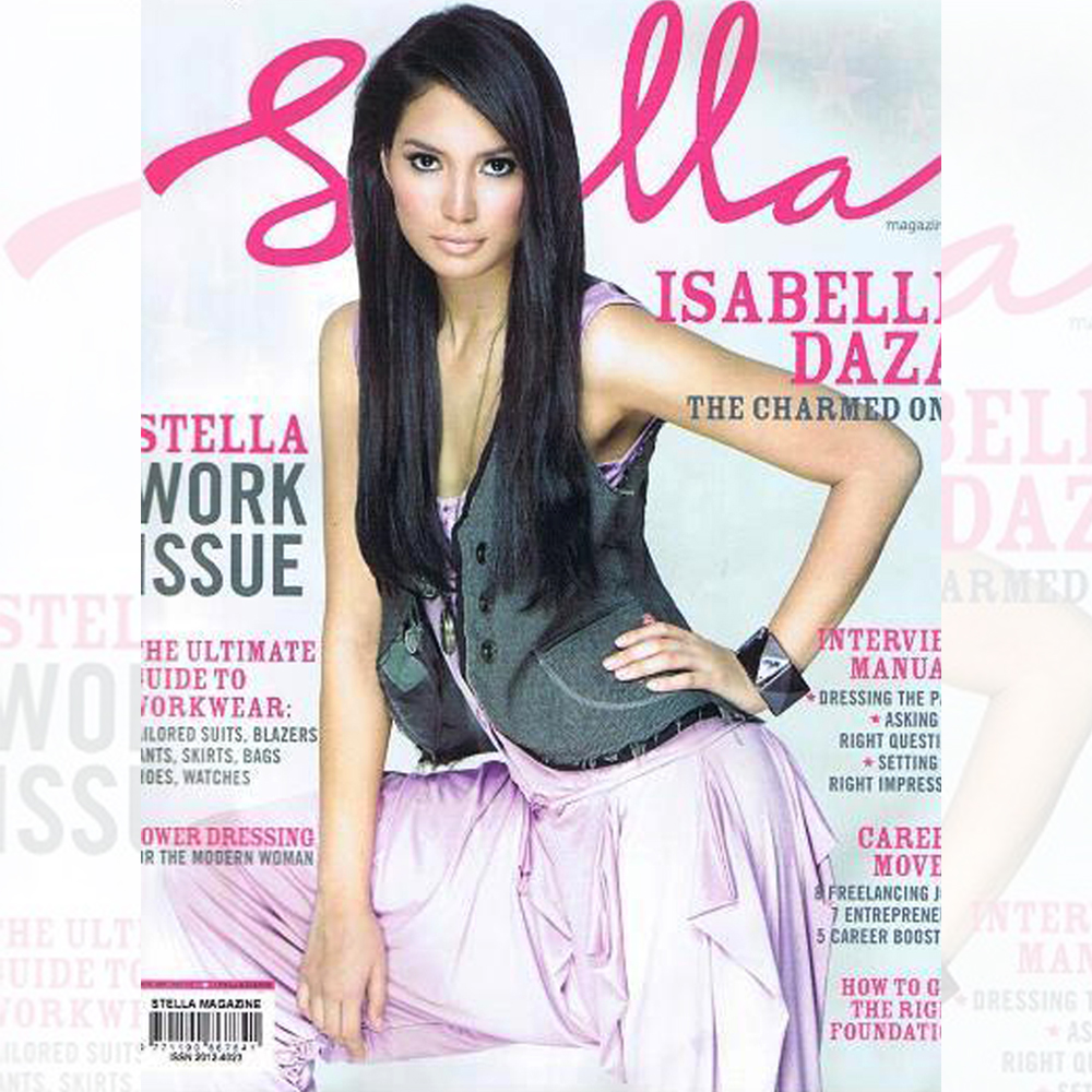 Isabelle Daza wearing Fiona jumpsut on the cover of stella magazine PH