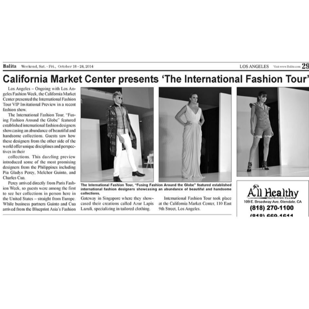 california market center presents LA fashion week