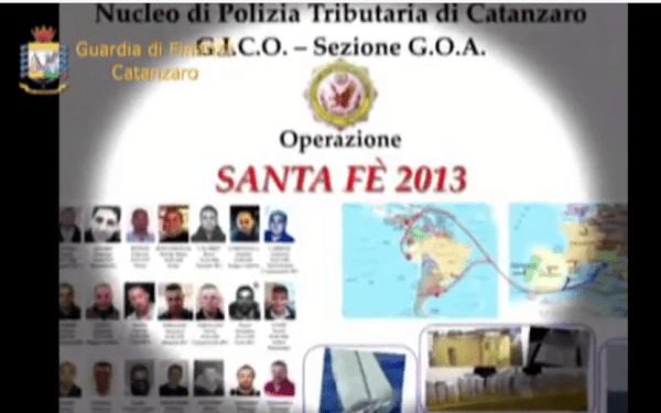"""Operazione """"Santa Fe'"""" colpo al narcotraffico. Dettagli Foto Nomi e Video"""