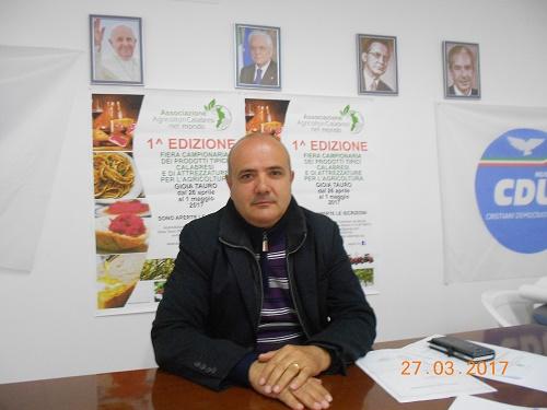 Gioia Tauro, intervista a Massimo Cananzi presidente della' Associazione Agricoltori Calabresi nel Mondo