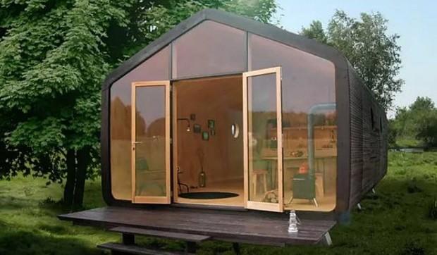 Anche in Italia la casa costruita con il cartone che dura 100 anni-Video