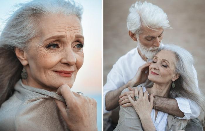 Fotografo russo cattura belle immagini di coppie anziane per mostrare che l'amore trascende il tempo