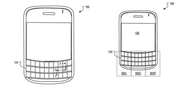 BlackBerry brevetta autenticazione tramite tastiera