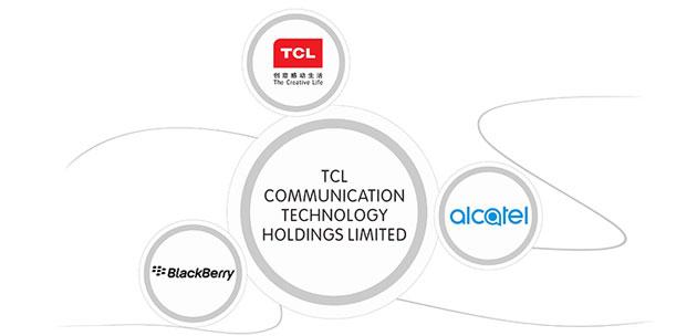 TCL con nuovi smartphone Alcatel e novita' Blackberry