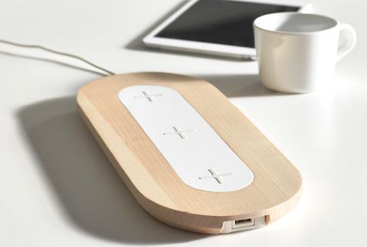 IKEA mobili ad induzione con ricarica wireless