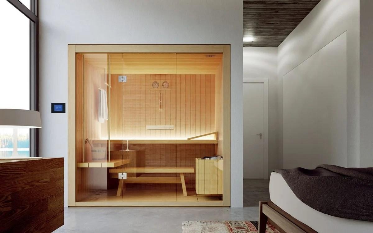 Doccia con sauna bagno turco