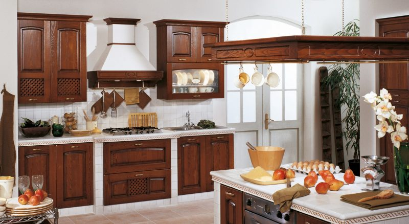 Cucine in legno