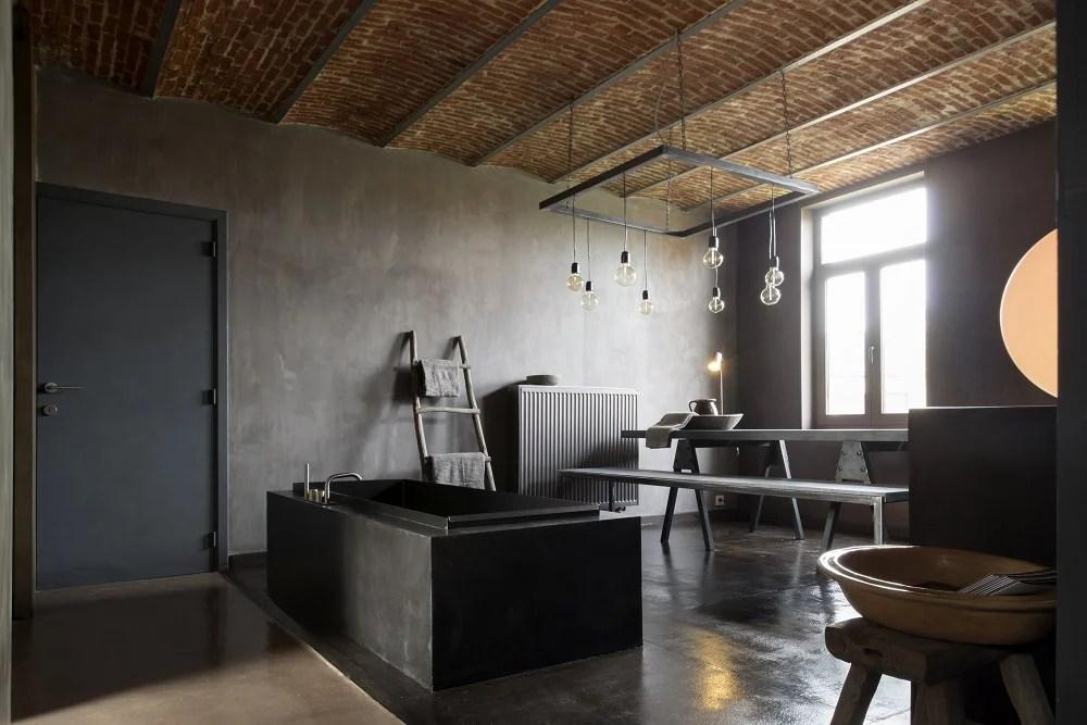 Rivestimenti e pavimenti in stile industriale