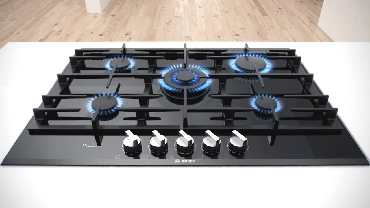Piano cottura elettrico o a gas
