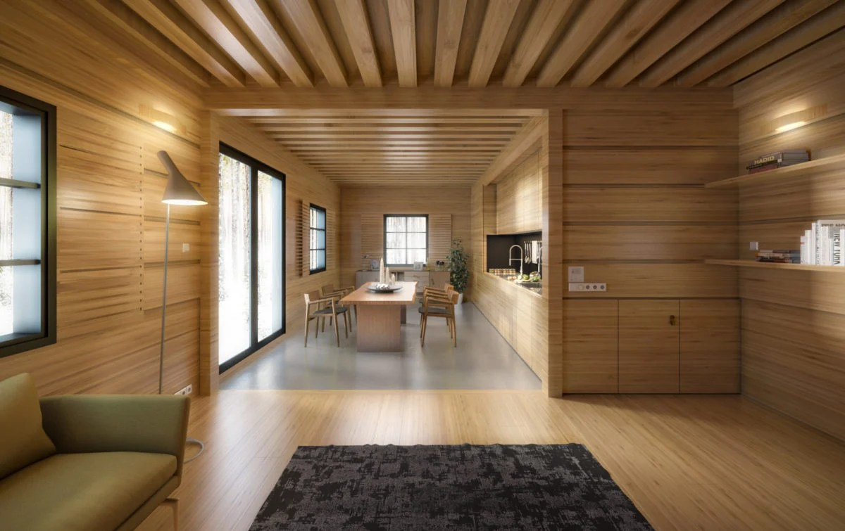 Costruire e vivere in una casa in legno