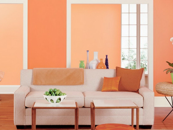 Colore albicocca come usarlo per arredare casa