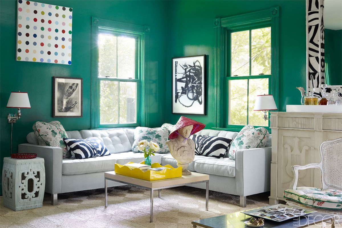 pareti colorate soggiorno le tonalità più indicate per le pareti colorate del soggiorno sono i toni del beige e del marrone scuro se gli spazi sono ampi altrimenti 29 gen 2018 dare una mano di vernice colorata alle. La Magia Del Verde Giada Per Le Pareti Di Casa