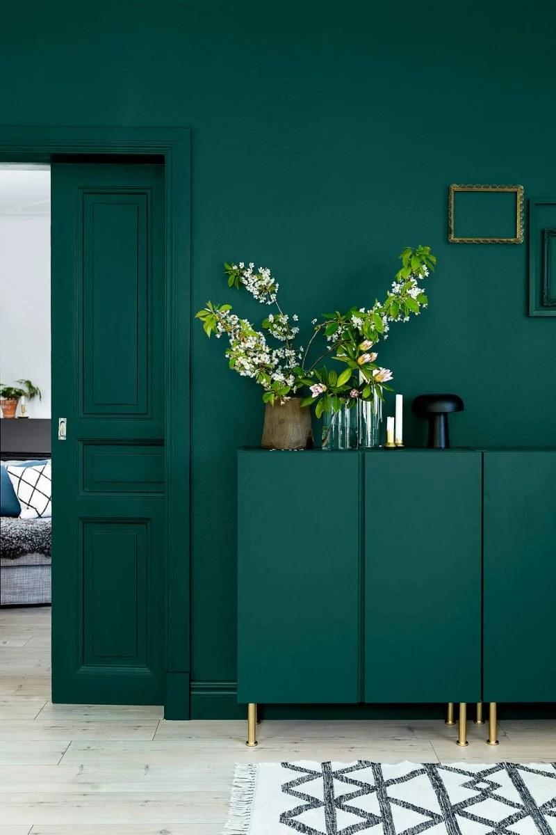 per la casa dall'arredo etnico le tinte sono molto simili: Soggiorno Color Petrolio Spunti Per Usare Il Mix Di Verde E Blu
