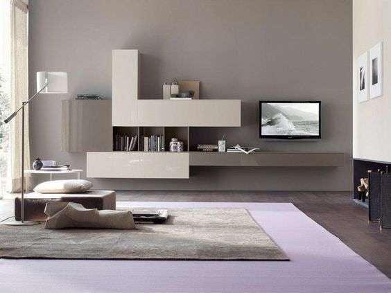 6.2 pareti color tortora e mobili marroni. Soggiorno Color Tortora Provate Questi Abbinamenti