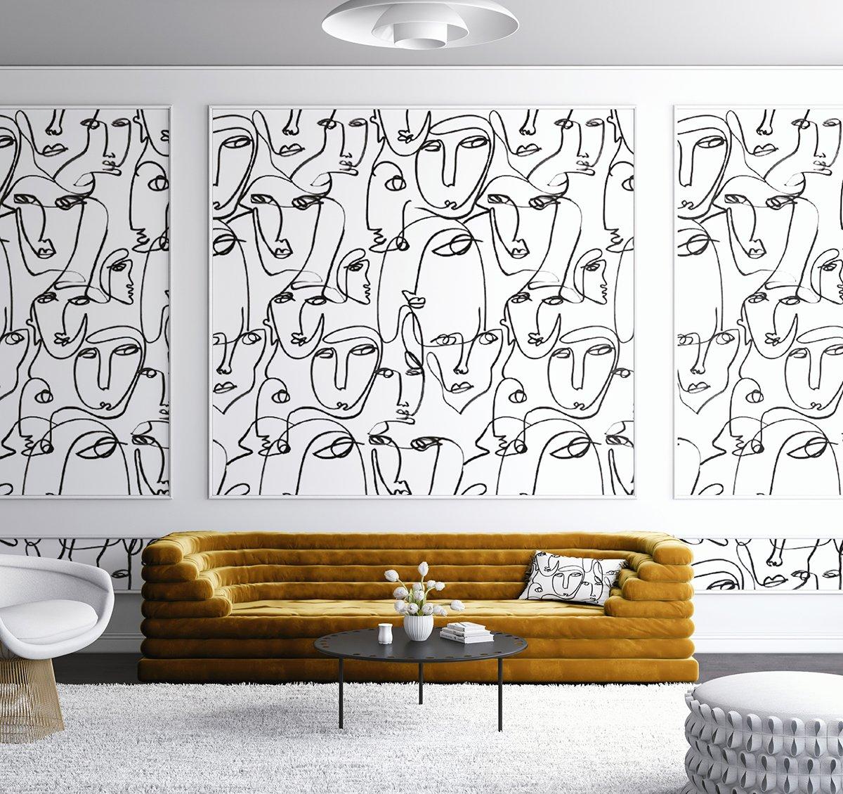 Tappezzeria stoffa da parati 3d murale design moderna carta da parati,. Carta Da Parati Moderna Come Vestire Con Stile Le Pareti