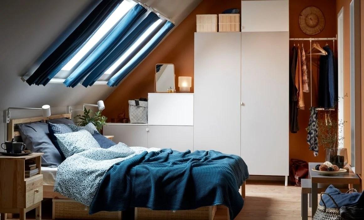Arredare una camera da letto in mansarda significa creare uno spazio romantico e accogliente per. Arredare Una Mansarda Con Ikea