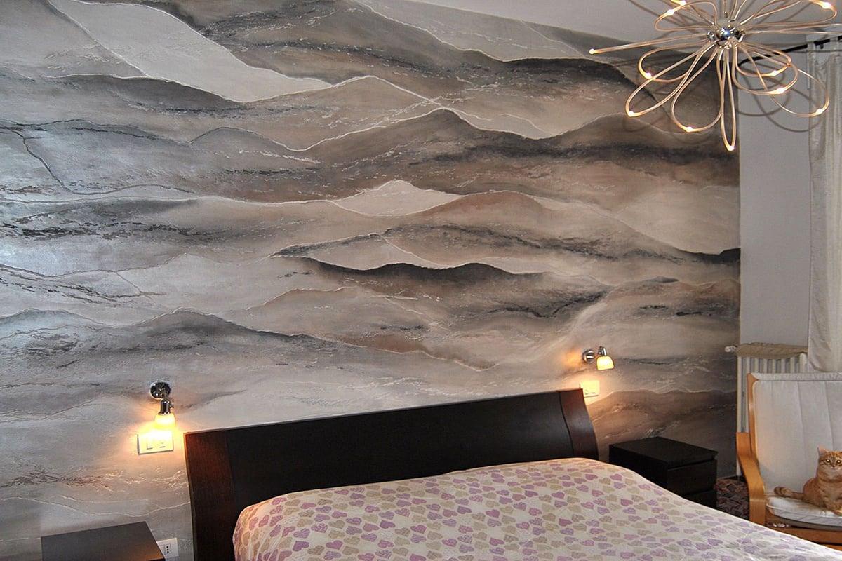 3 colori rilassanti per camera da letto. Pitture Decorative Per La Camera Da Letto 3 Tecniche Da Scoprire