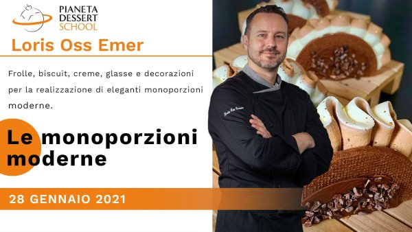 Loris Oss Emer Pianeta Dessert School gennaio 2021