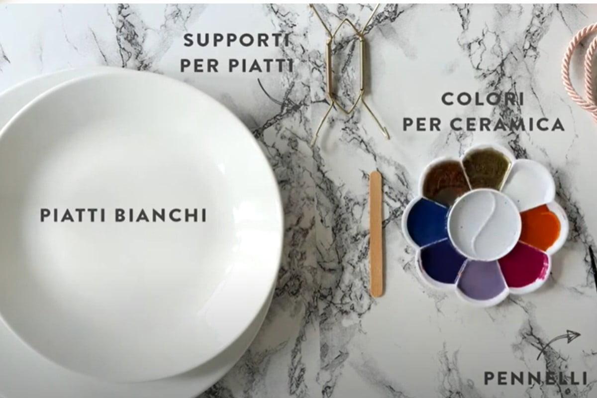 Produzione vendita on line semilavorati accessori tavola ceramica servizio piatti. Dipingere Piatti In Ceramica Con Il Fai Da Te Ecco Come Decorarli