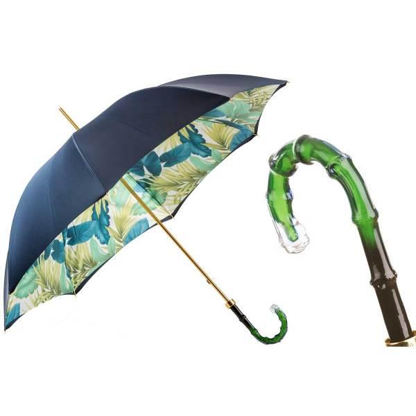 Blue and Green Umbrella