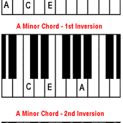 Notes On Piano Keyboard Diagram Blank Carpal How To Play A Minor Chord Piano. The Am Chord.