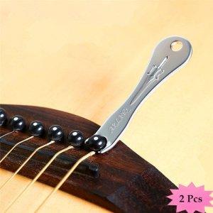 ETGtek(TM) Guitar Professional Pont Pin Puller Peg Extractor Outil Remover (pack de 2)