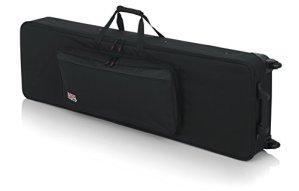 Gator GKB-88-SLIM Housse de protection à roulettes pour Clavier 88 Touches Noir