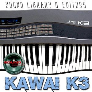Kawai K3–Programme d'usine et de nouveaux Créé Bibliothèque de sons et Monteurs sur CD ou téléchargement