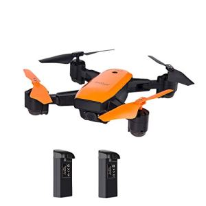 OASICS IDEA7 2,4 GHz GPS FPV Wifi 2 MP 720P Camera HD Caméra Quadcoptère pliable RC Quadcopter Helicopter RTF + 3 piles Gefaltet: 15,5 * 11,8 x 6 cm B