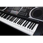 ounona Stickers pour Touches de piano, orgue électronique de Autocollants Transparent 61/88Key piano autocollants Keyboard Music Note universel pour Piano Facile heures