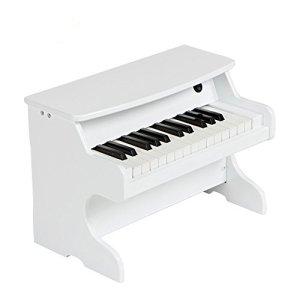 Wooden Piano Jouet Musical Piano 25Key Simulation Jeu pour enfants infantile début éducation, Violon, White
