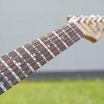 Manche de la guitare autocollants, autocollants, E de touche de A à D G de B E, 25Stickers Gitarrenaufkleber, E-A-D-G-B-E