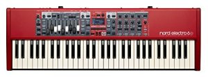 Nord USA Clavier portable Clavier cascade semi-leste de 61 notes