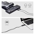 USB MIDI Interface Cable – USB Bus-Powered 1-IN/1-OUT Audio/MIDI Cable For Musical Keyboard/Electronic Piano (2.0 M)